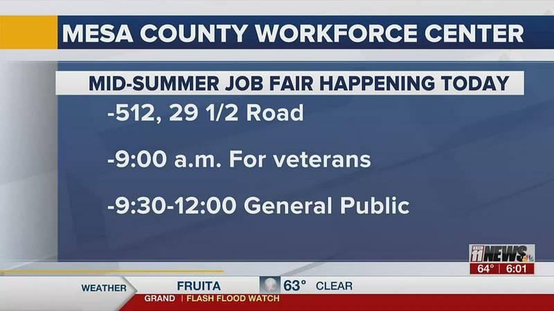 Workforce Center hosting second summer job fair today