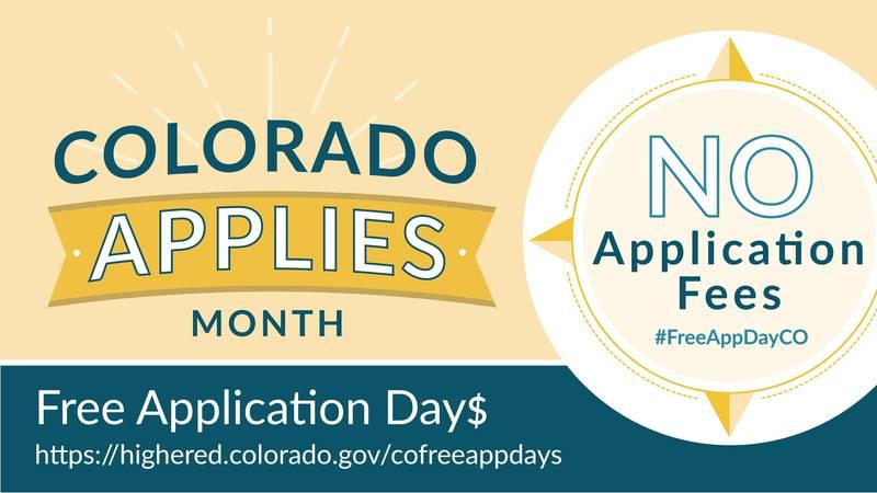 Colorado Free Application Day$
