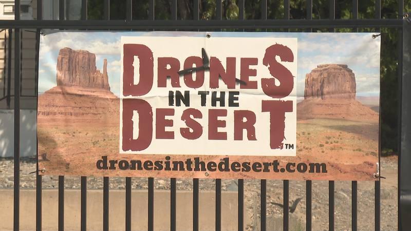 Drones in the Desert