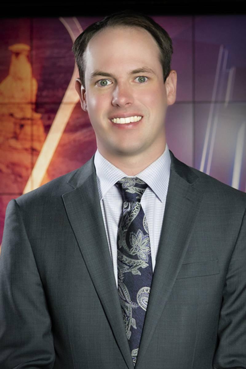 Headshot of Zack Webster, Meteorologist