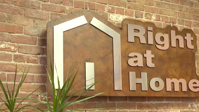 Right at Home is a senior care center located on Main Street.