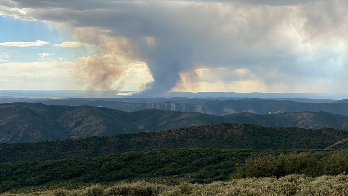 Three wildfires are currently burning southwest of Meeker near Piceance Creek.