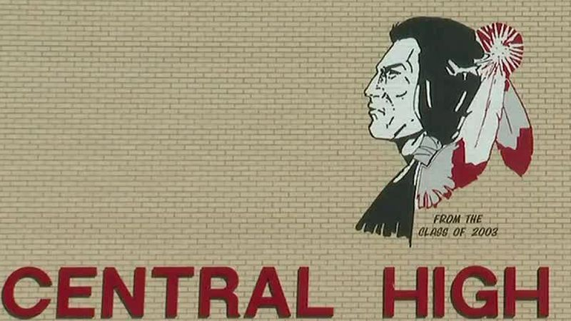 The drive-through vaccination site is taking place at Central High School in Grand Junction.