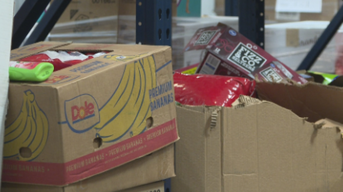 A local food bank says they're ready for the next surge for families in need.