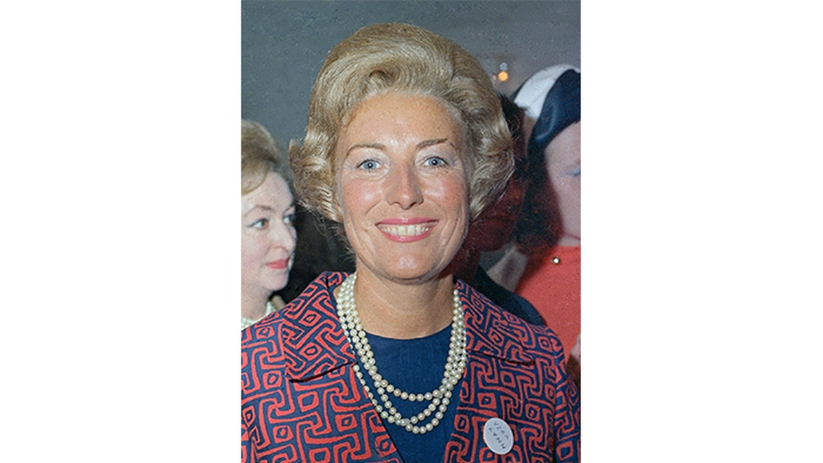 In this 1969 file photo, British wartime singer and actress Vera Lynn attends a reception in London. The family of World War II forces sweetheart Vera Lynn says she has died. She was 103 it was reported on Thursday, June 18, 2020. (Source: AP Photo, File)
