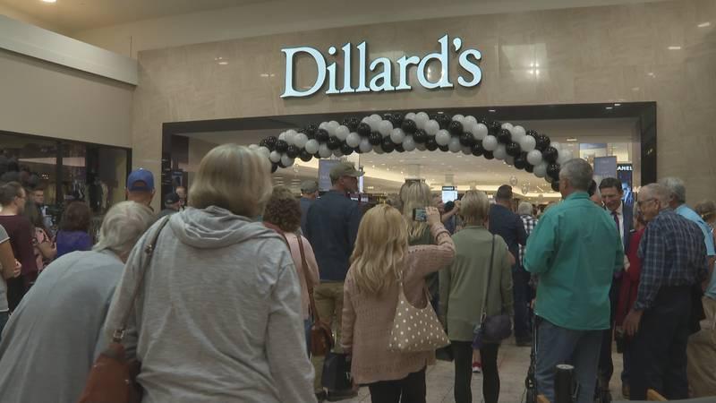 Dillard's grand opening