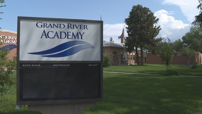 The Grand River Academy building in Grand Junction, Colo.