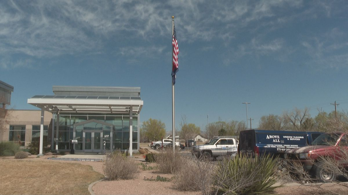 The outside of Grand Valley Power's office in Grand Junction, Colo.