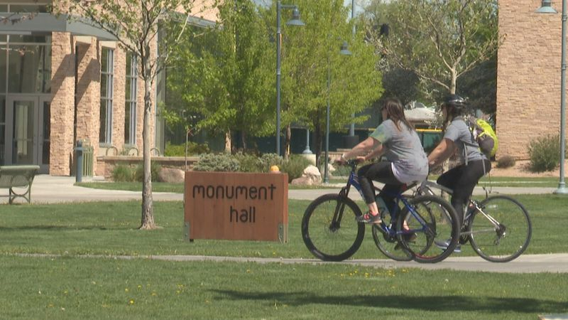 Around 40 employees rode from the health department to CMU