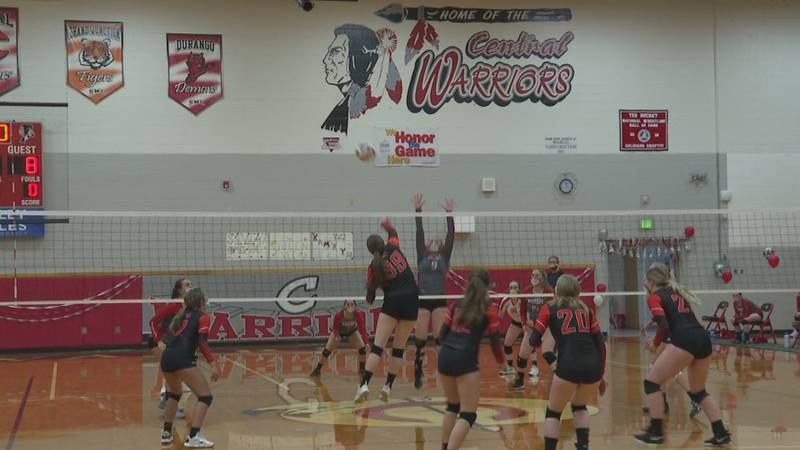 Central Volleyball vs Grand Junction