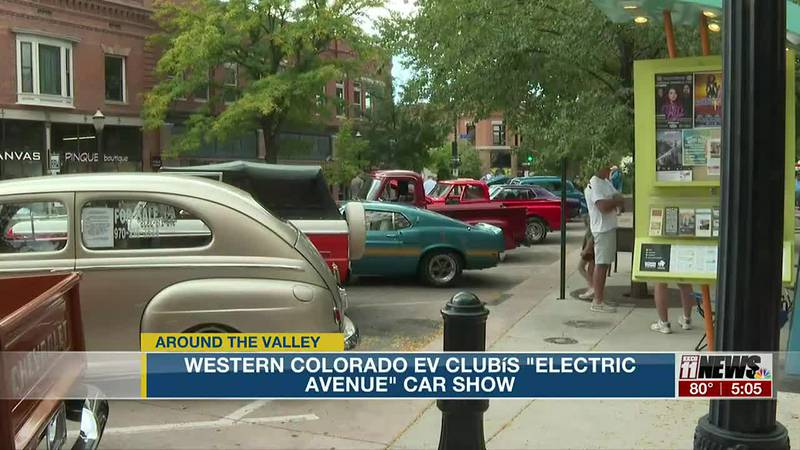 "Western Colorado EV Club's ""Electric Avenue"" Car Show"
