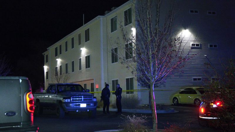 The shooting occurred at the Mesa Vista Apartment Homes in the 1800 block of Main Street.