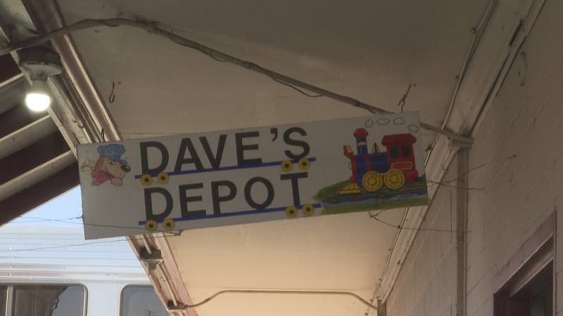 Dave's Depot to close after Amtrak scales back services.