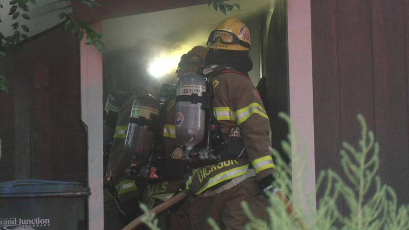 House fire in the 300 block of Acoma Drive