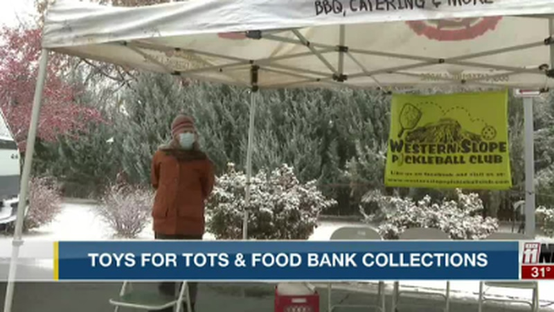 Toys for Tots & Food Bank Collections