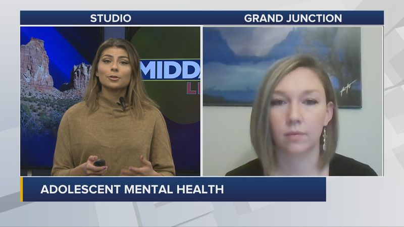 The pandemic's impact on adolescent mental health.