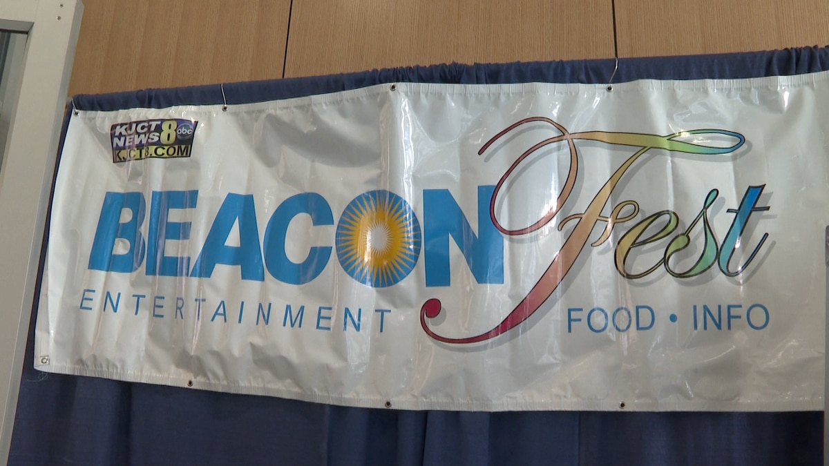 Sign of Beaconfest at Grand Junction Convention Center