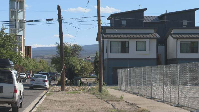 A group of townhomes was recently constructed in the downtown area of Grand Junction, Colo.