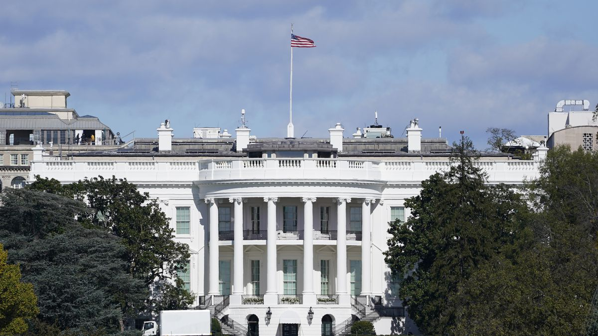 FILE: A view of the White House in Washington on Nov. 2, 2020.