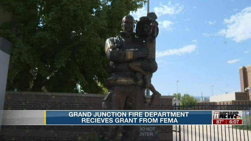 Grand Junction Fire Department Receives Grant from Fema