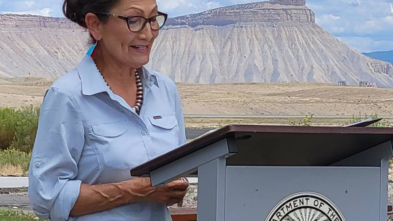 Secretary Deb Haaland visits Grand Junction to discuss the future of the BLM headquarters