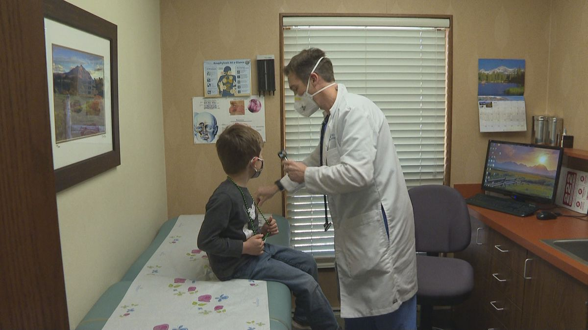 Dr. David Scott practices medicine in Grand Junction, Colo.