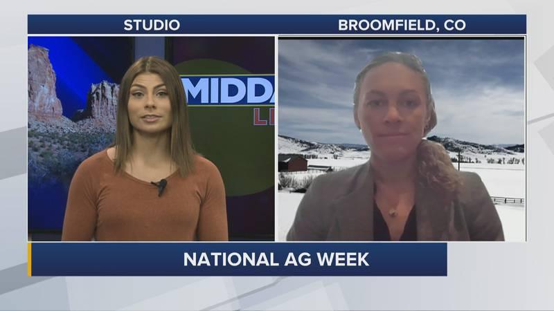 National Ag Week with Kate Greenberg