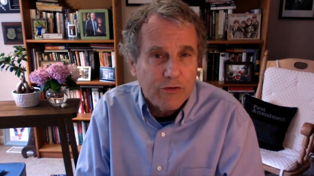 Sen. Sherrod Brown (D-Ohio) discusses VEEPstakes, Gov. Kasich's (R-Ohio) upcoming address backing Biden, and what he hopes comes out of the virtual convention.