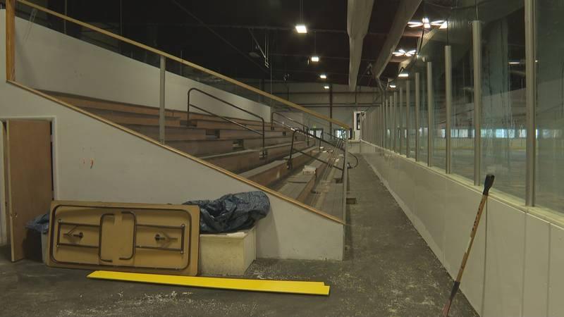 River City Sportplex & Ice Arena under renovation