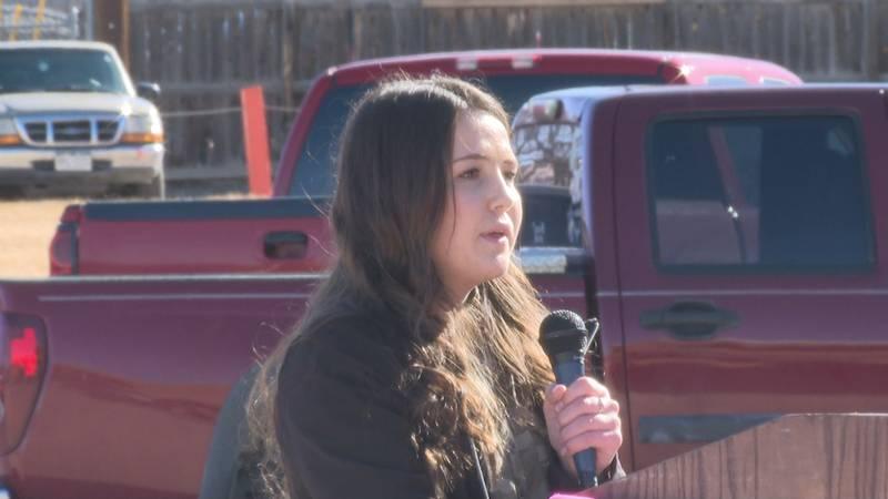 Students speak on P-TECH program at Grand Junction High School.