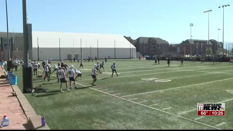 First CMU Football Practice