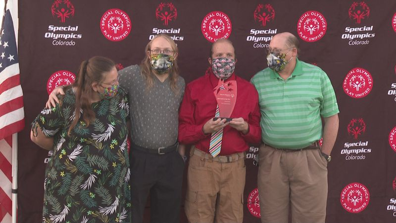 The Crawley family honored with Special Olympics Colorado HOF induction