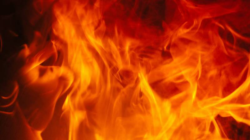 Another brush fire broke out overnight near the Rifle Fish Hatchery.