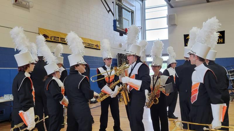 West Middle School Rock-a-thon