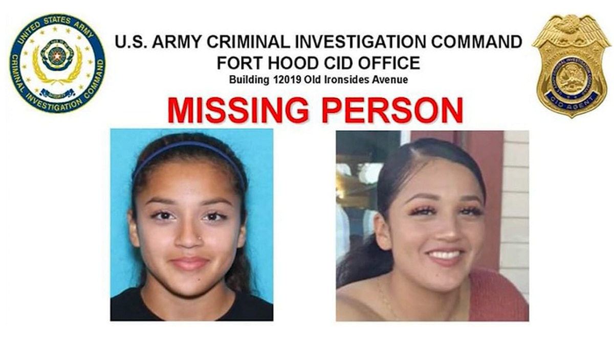 Private first class Vanessa Guillen was last seen on April 22 in a parking lot at Fort Hood. (Source: CNN/Fort Hood Military Police)