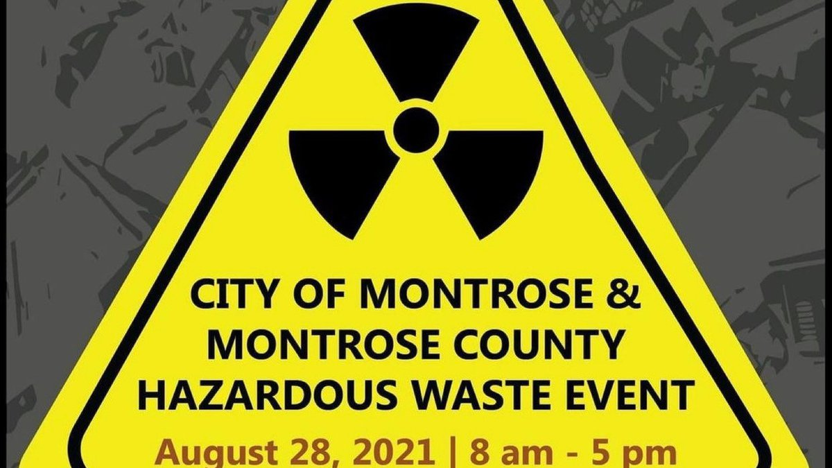 Montrose Hazardous Waste Event