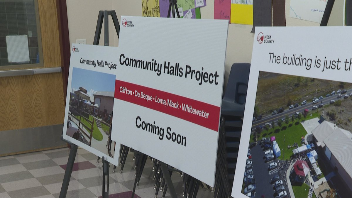 The event featured information on the project's plans so far.