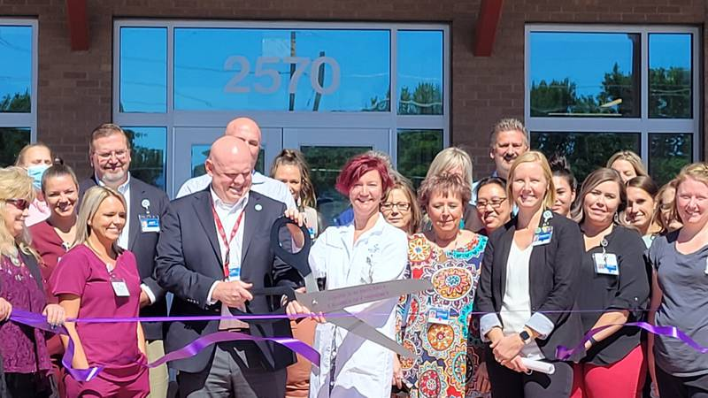 SCL Health associates and local community members celebrated the grand opening of a new primary...