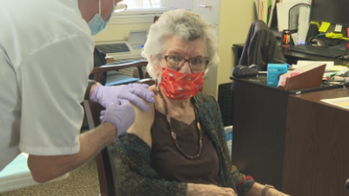 Solstice Senior Living at Grand Valley vaccinates residents