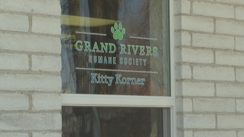 The outside of the Grand Rivers Humane Society in Grand Junction, Colo.