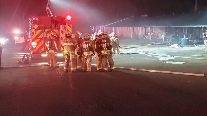 Prospector Motel in Orchard Mesa damaged by fire