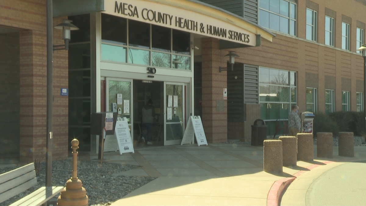 Mesa County Public Health is located inside the Mesa County Health and Human Services building.