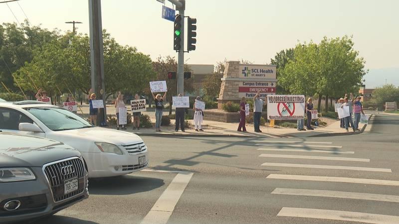 Anti-mandate protest