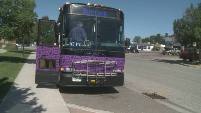New bus stops opening today in Grand Junction.