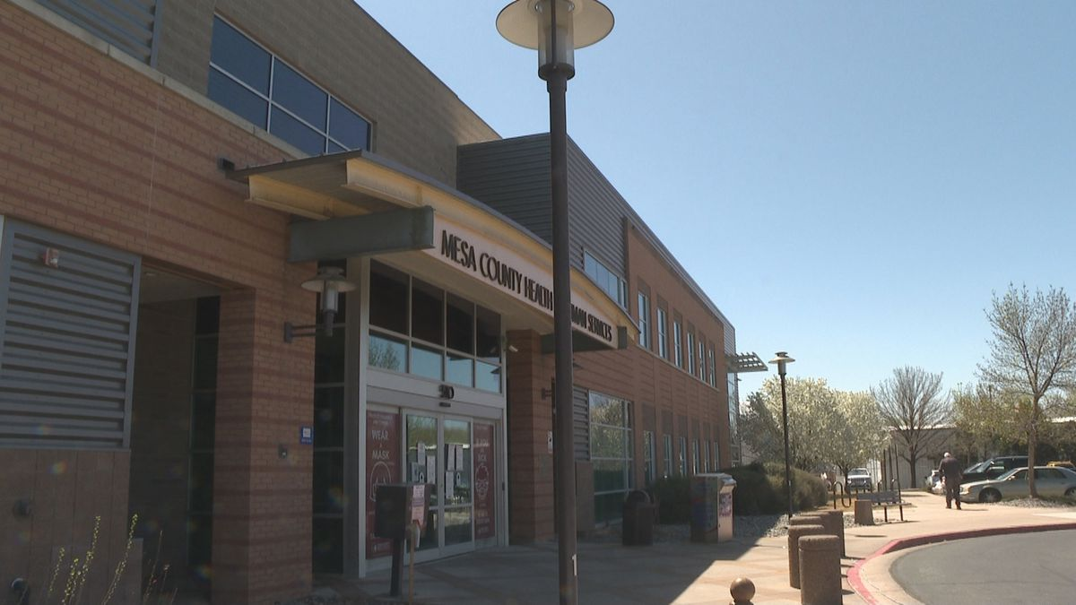 Mesa County Public Health is located inside the Health and Human Services building.