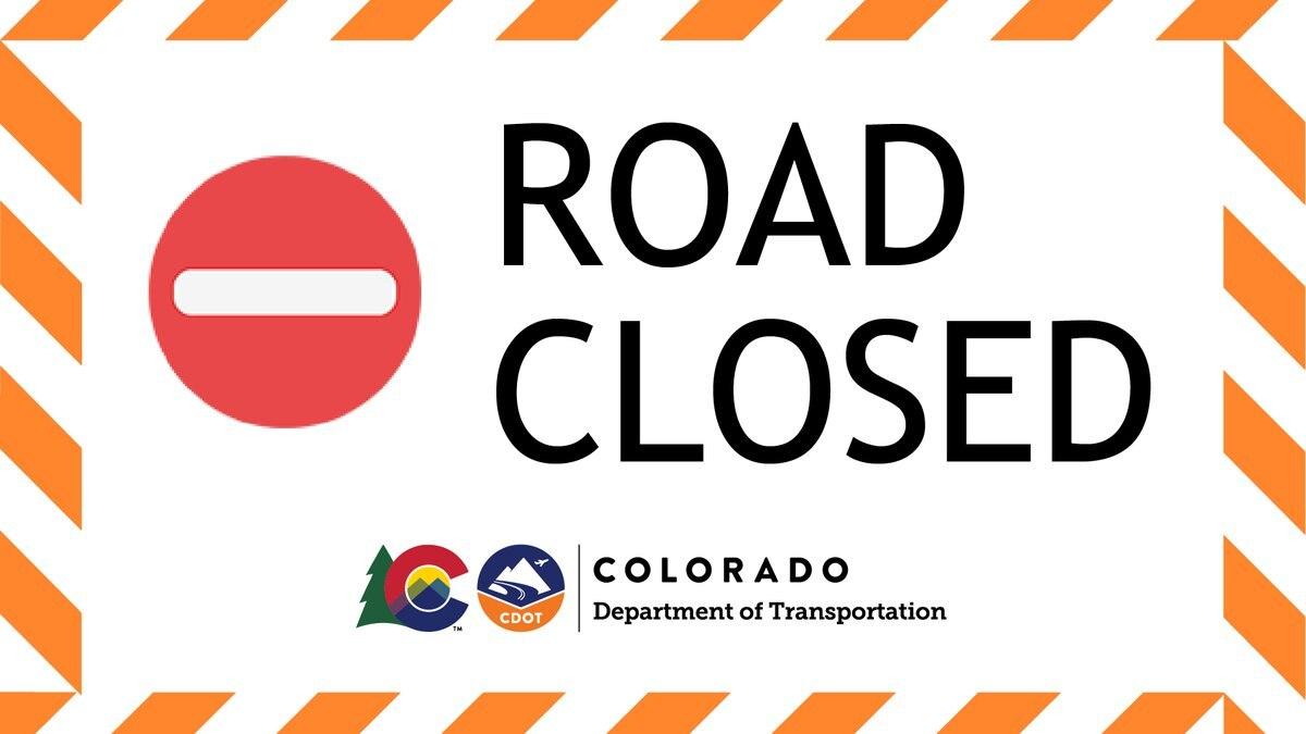 Road Closed - CDOT