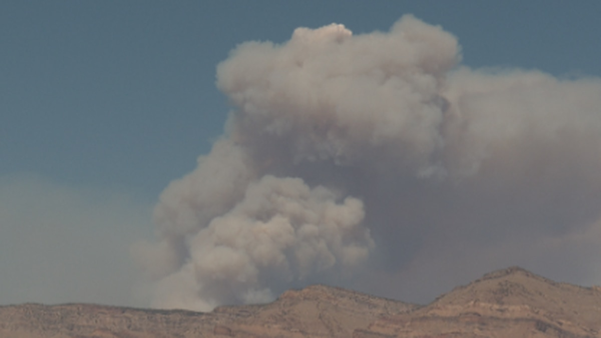The CDC says the irritation on the lungs from wildfire smoke can make a person prone to getting a lung infection like SARS, the virus that causes covid-19.