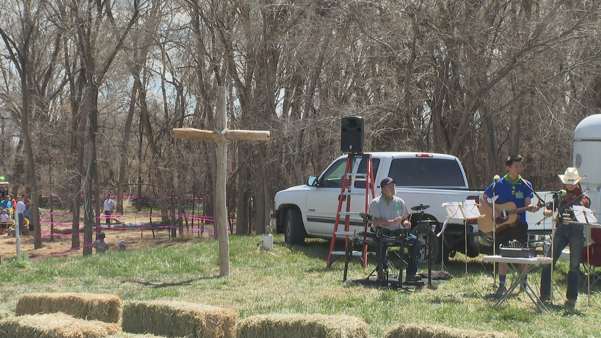 Live music was featured at the Easter Extravaganza in Fruita.