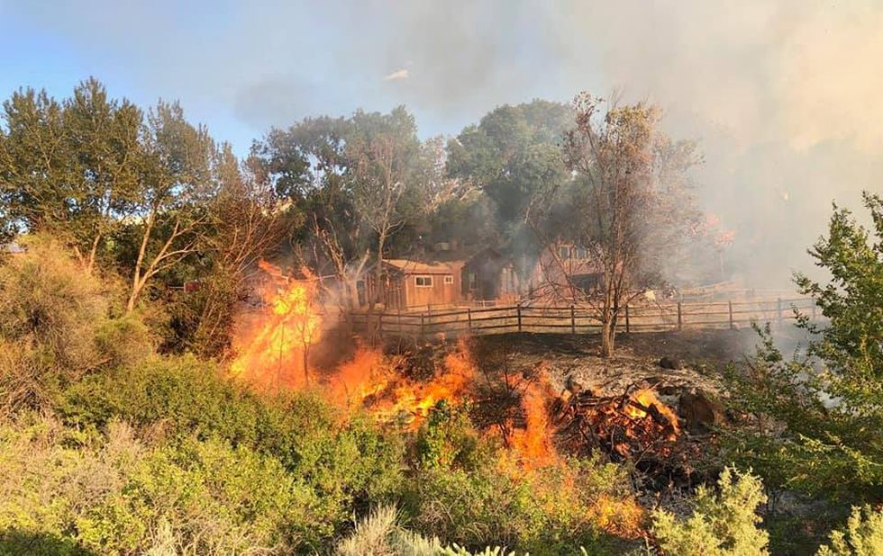 The fire burned 32 acres. As of Friday evening, there is no active fire. Crews on scene are...