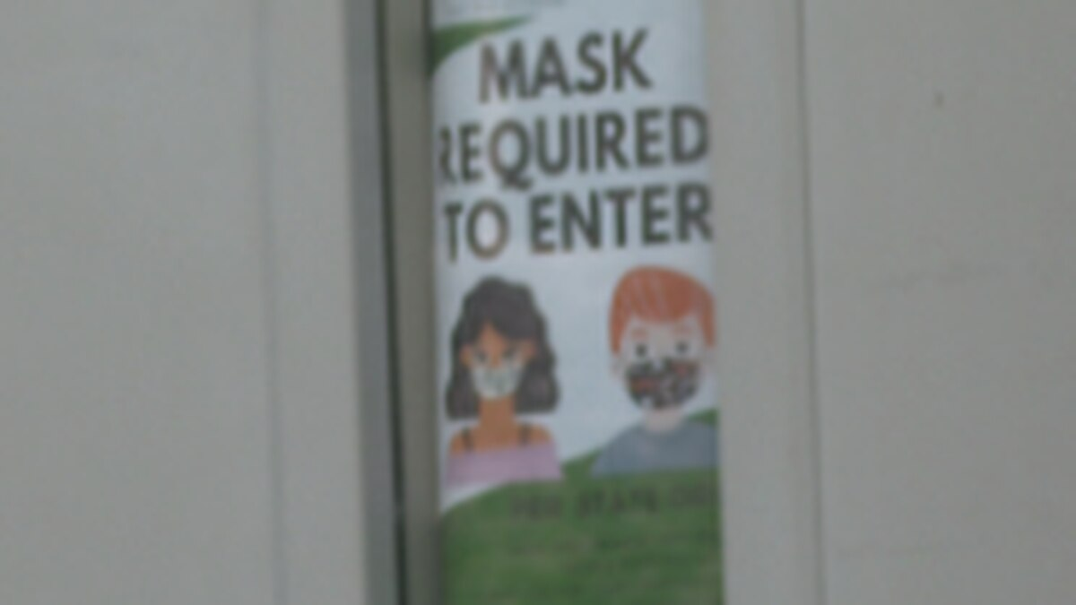 One of the big talking points at Tuesday night's School District 51 meeting was social distancing and masks.
